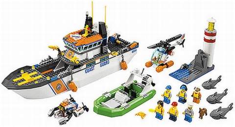 #60014 LEGO City Coast Guard Patrol Details