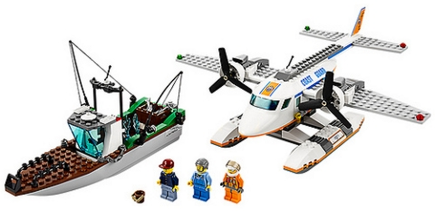 #60015 LEGO City Coast Guard Plane Details