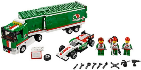#60025 LEGO City Grand Prix Truck Details
