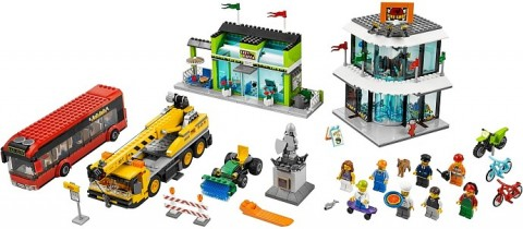 #60026 LEGO City Town Square Details