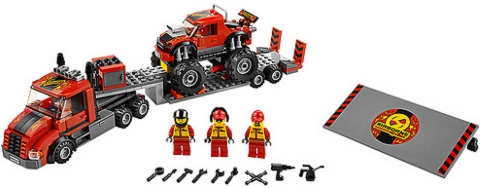 #60027 LEGO City Monster Truck Transporter