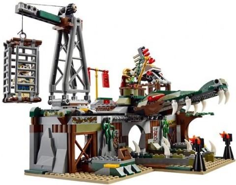 #70014 LEGO Legends of Chima Croc Swamp Hideout