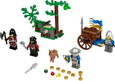 #70400 LEGO Castle Forest Ambush Details