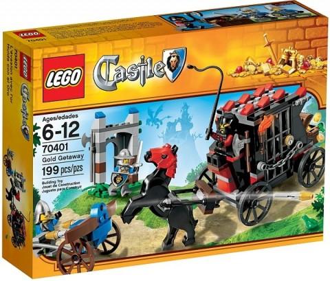 #70401 LEGO Castle Gold Getaway
