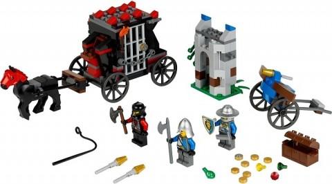 #70401 LEGO Castle Gold Getaway Details