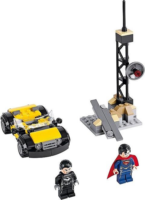 #76002 LEGO Super Heroes Superman Details