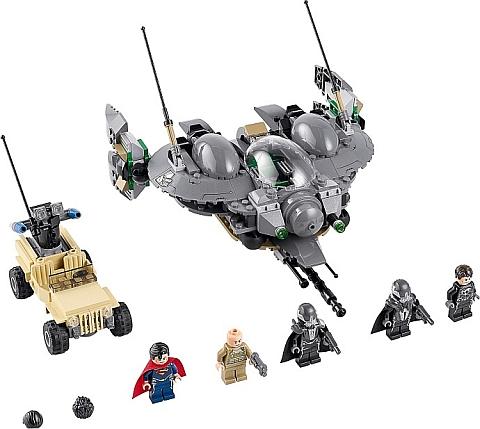 #76003 LEGO Super Heroes Superman Details