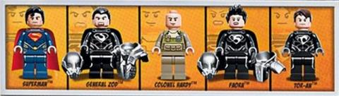 #76003 LEGO Super Heroes Superman Minifigures
