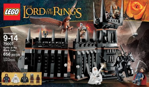 #79007 LEGO Lord of the Rings Battle at the Black Gate