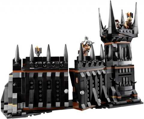 #79007 LEGO Lord of the Rings Battle at the Black Gate Front