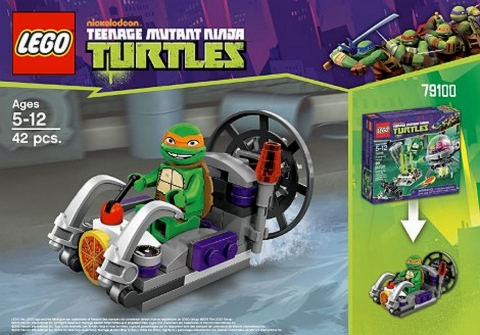#79100 LEGO Teenage Mutant Ninja Turtles Alternate Build