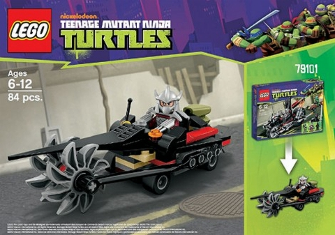 #79101 LEGO Teenage Mutant Ninja Turtles Alternate Build
