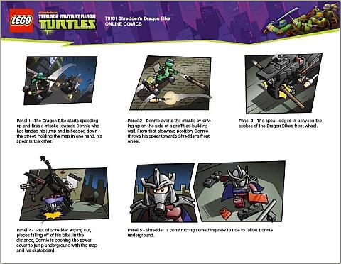 #79101 LEGO Teenage Mutant Ninja Turtles Comics