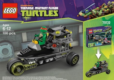 #79102 LEGO Teenage Mutant Ninja Turtles Alternate Build