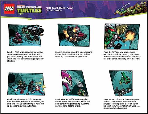 #79102 LEGO Teenage Mutant Ninja Turtles Comics