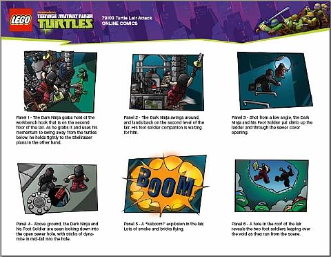 #79103 LEGO Teenage Mutant Ninja Turtles Comics