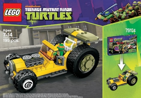 #79104 LEGO Teenage Mutant Ninja Turtles Alternate Build
