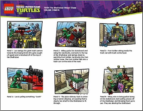 #79104 LEGO Teenage Mutant Ninja Turtles Comics