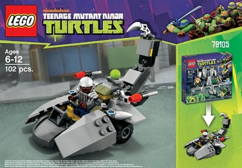 #79105 LEGO Teenage Mutant Ninja Turtles Alternate Build