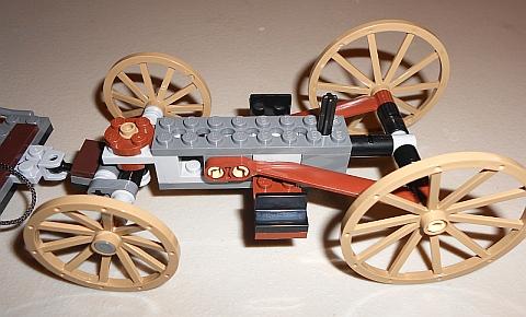 #79108 LEGO Lone Ranger Stagecoach Frame