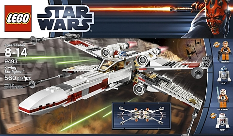 #9493 LEGO Star Wars X-wing Starfighter Box