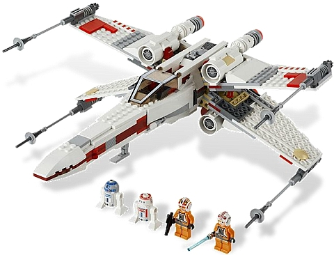 #9493 LEGO Star Wars X-wing Starfighter Details