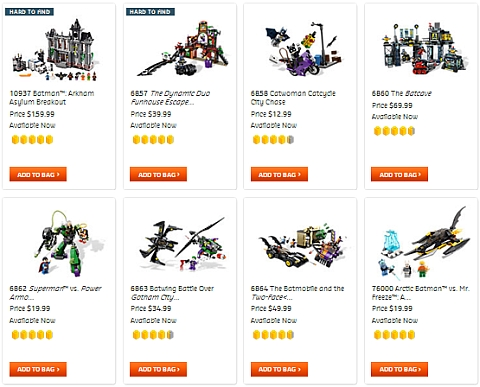 Buy LEGO DC Super Heroes Sets