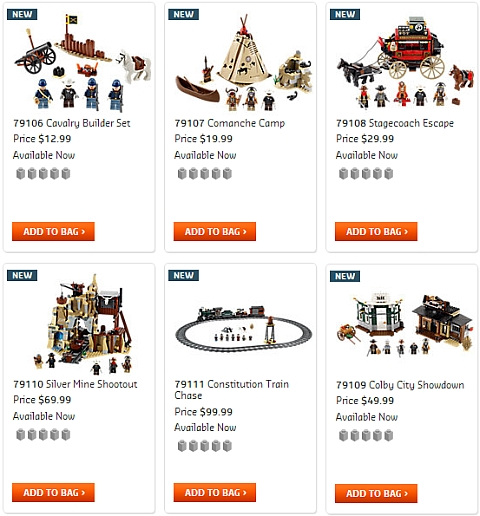 Buy LEGO Lone Ranger Sets