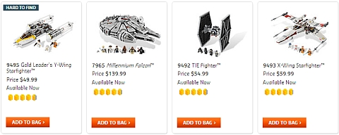 Buy LEGO Star Wars Sets at the Online LEGO Shop