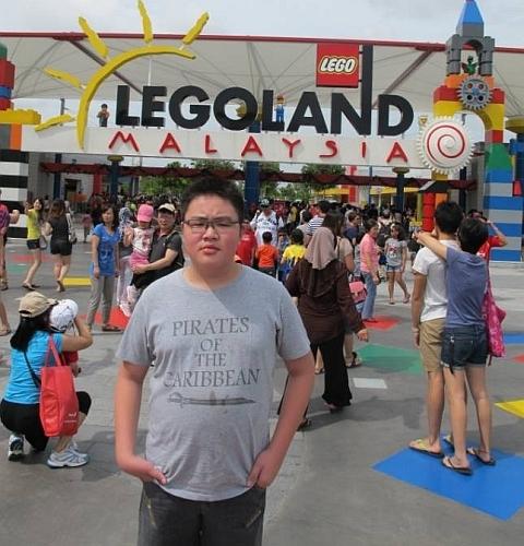 Fikko at LEGOLAND Malaysia
