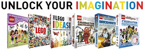 Great LEGO Books by DK Publishing