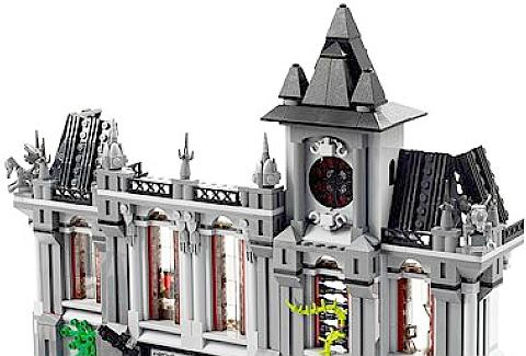 LEGO Arkham Asylum Review - Architecture