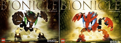 LEGO Bionicle by Fikko