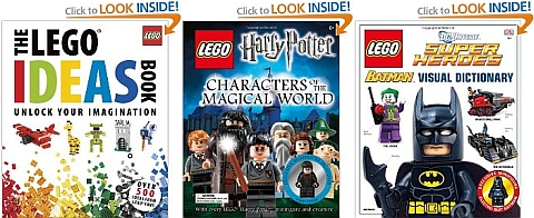 LEGO Books by DK Publishing