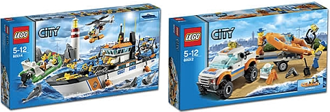 LEGO City Coast Guard Sets