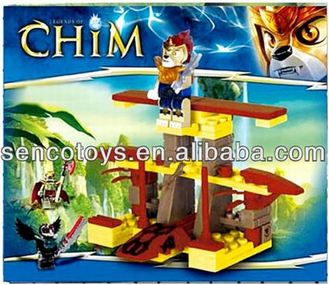 LEGO Clone Brand Legends of Chim