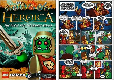 LEGO Comics - Heroica 1