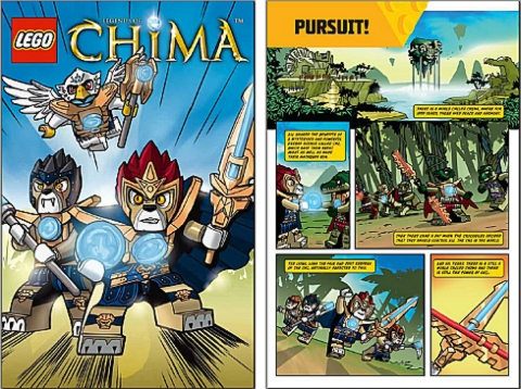 LEGO Comics - Legends of Chima