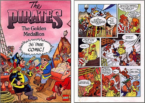 LEGO Comics - Pirates