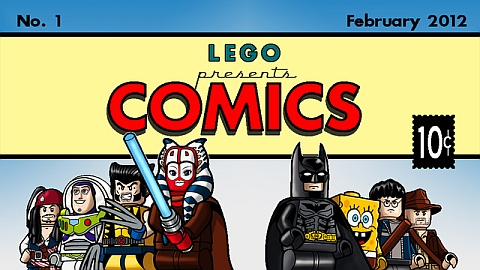 LEGO Comics by mopeydecker