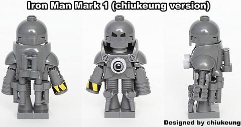LEGO Iron Man Mark I Design by Chiukeung