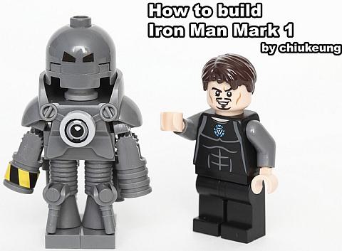 LEGO Iron Man Mark I by Chiukeung