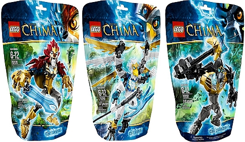 LEGO Legends of Chima Ultrabuilds Good Guys