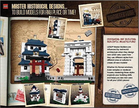 LEGO Master Builder Academy Level 4 - Historical Designs