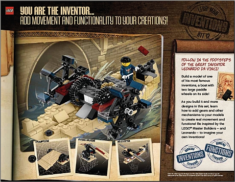 LEGO Master Builder Academy Level 4 - Invention Designer