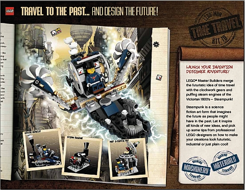 LEGO Master Builder Academy Level 4 - Steampunk