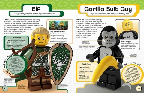 LEGO Minifigures Character Encyclopedia Details