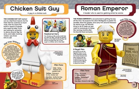 LEGO Minifigures Character Encyclopedia Facts