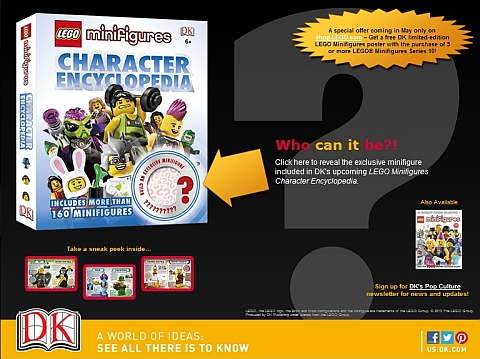 LEGO Minifigures Character Encyclopedia Mistery