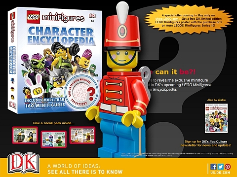 LEGO Minifigures Character Encyclopedia Toy Soldier